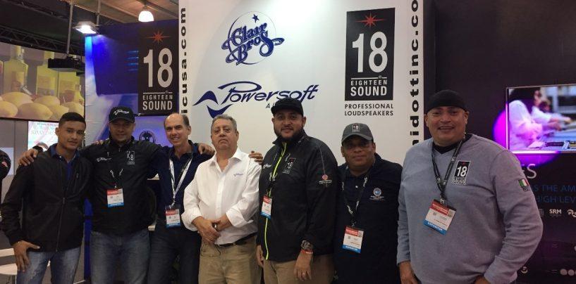 Universal Music y Powersoft estuvieron en Tecnomultimedia Infocomm Colombia