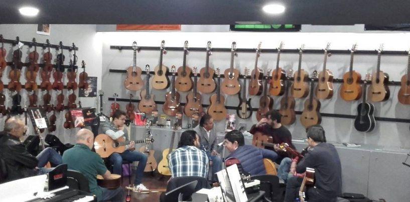 Diferentes matices de instrumentos se encuentran en Arco Iris Musical