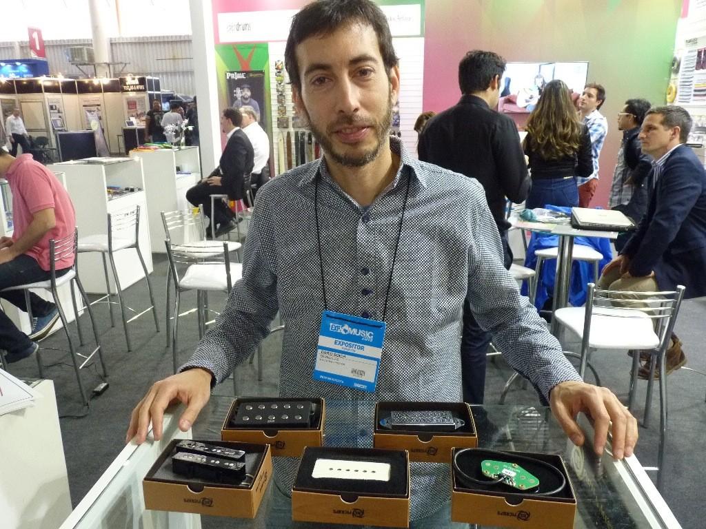 Darío Soich de DS Pickups