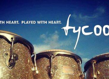 """Tycoon y el atractivo de sus timbales Antique Copper de 14"""" y 15"""""""