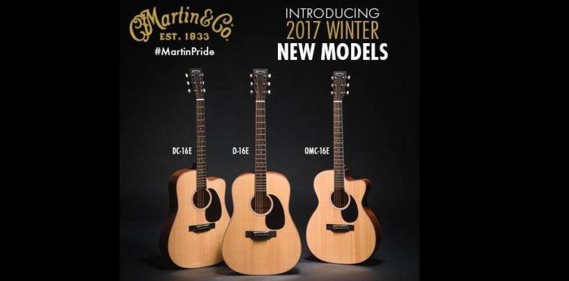 NAMM 2017: Martin Guitar moderniza su serie 16