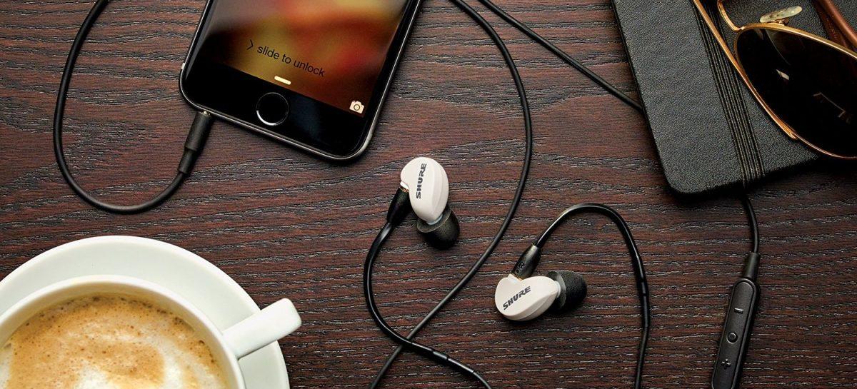 Shure lanza los nuevos audífonos in-ears edición especial SE215M+