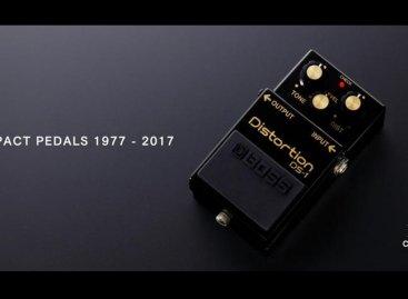 BOSS celebra su 40 aniversario con edición limitada del pedal DS-1-4A