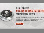 Nuevo driver de compresión N151M-8 de Eminence