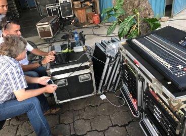 Powersoft visita Nicaragua para realizar entrenamiento