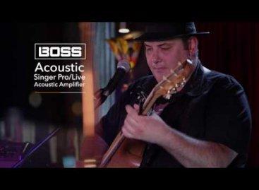 Acoustic Singer: La nueva serie de amplificadores de BOSS