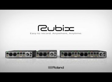 Nueva línea Rubix de interfaces de audio de Roland