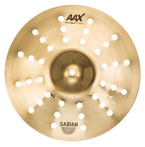 12″ AAX Aero Splash Brilliant finish Overhead view 212XACB