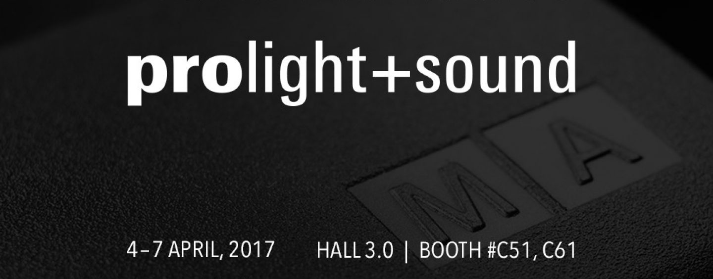 Prolight + Sound 2017: MA Lighting lanza nueva versión de su software dot2 series