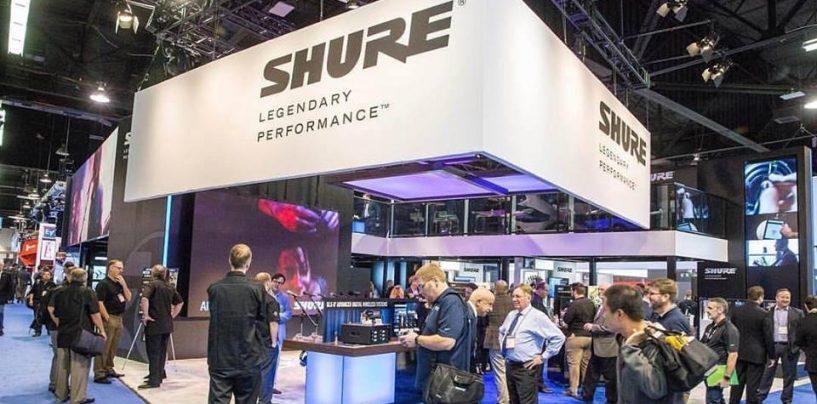 Shure amplía la integración de sus sistemas Inalámbricos con consolas Yamaha