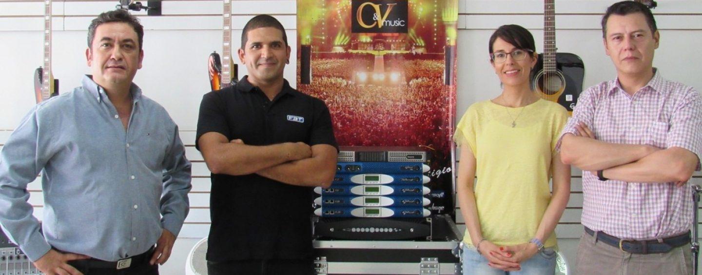 CyVmusic Distribuye Powersoft en Chile y Bolivia
