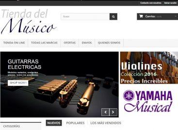 Tienda del Músico se enfoca en la venta virtual