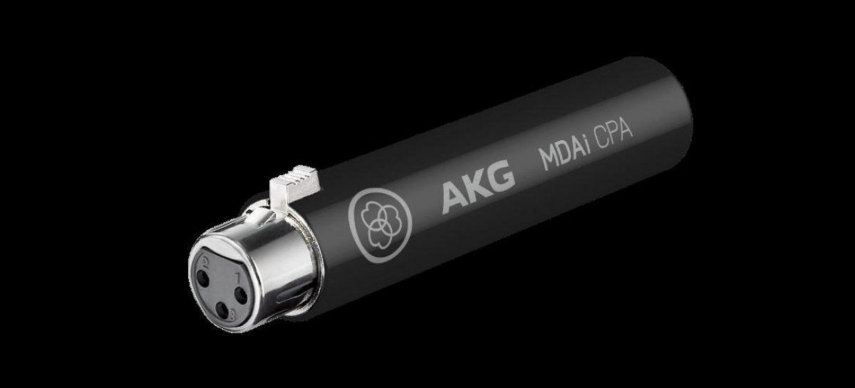 Prolight + Sound 2017: AKG presenta el adaptador de micrófono MDAi CPA
