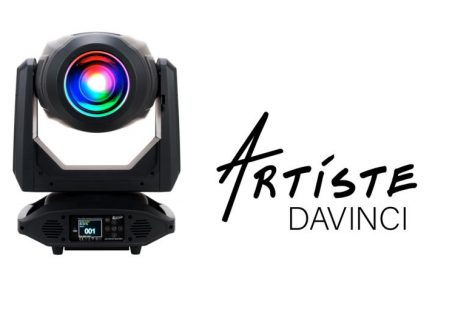 Nueva luminaria Artiste DaVinci de Elation Professional
