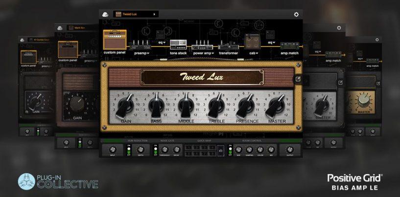 El plug-in BIAS Amp LE de Focusrite está disponible de forma gratuita