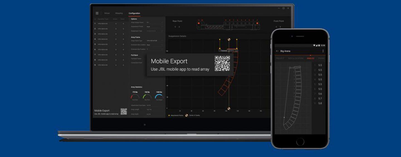 JBL y su nueva aplicación Array Link