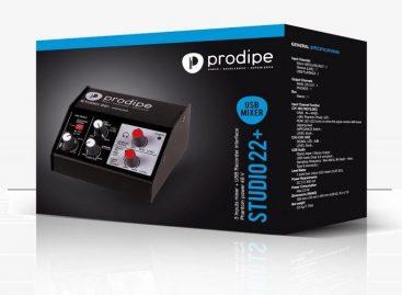 Nueva interfaz de audio Studio22+ de Prodipe