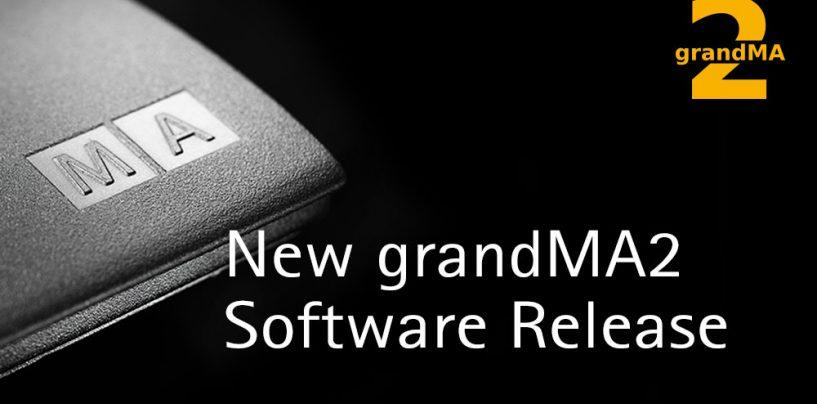 MA Lighting lanza versión 3.3 del software grandMA2