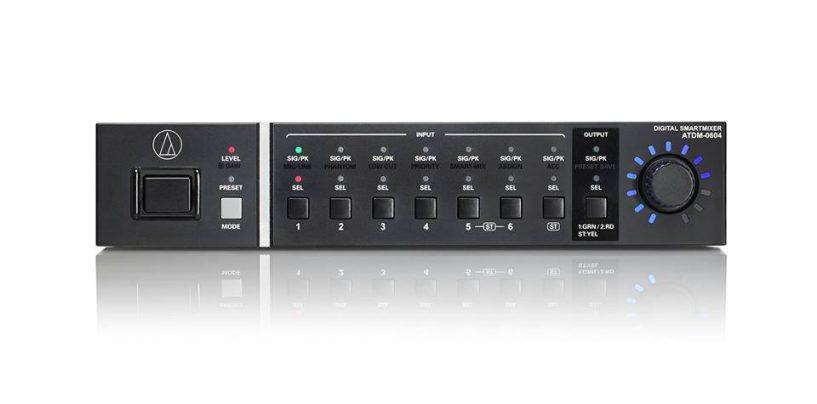 Nuevo mezclador digital ATDM-0604 Digital SmartMixer de Audio-Technica