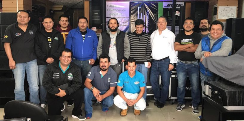 Vallparr Importaciones es el nuevo distribuidor de Powersoft en Ecuador