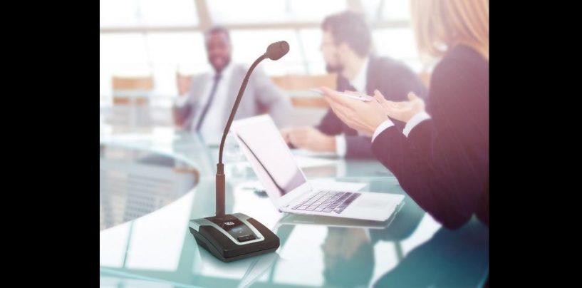 La solución para conferencias U500 Wireless de LD Systems, ya está al alcance de sus manos