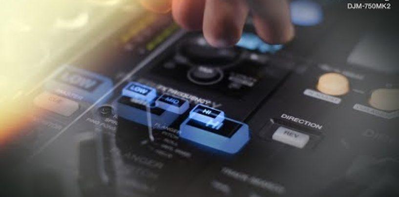 Pioneer DJ presenta la mezcladora DJM-750MK2