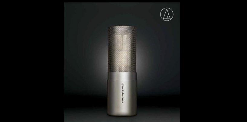 Nuevo micrófono de condensador cardioide AT5047 y soportes anti vibración de Audio-Technica