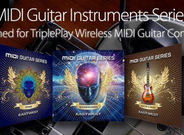 EastWest y Fishman, creador de TriplePlay se unen para desarrollar instrumentos para guitarristas MIDI