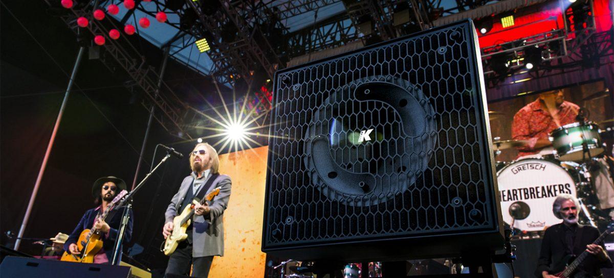 K-array brinda soluciones front fill para la gira de Tom Petty