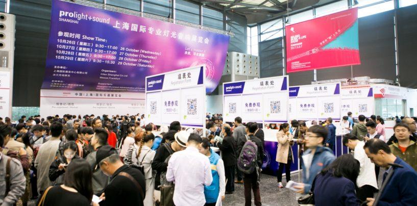 Prolight + Sound Shanghai 2017 en crecimiento