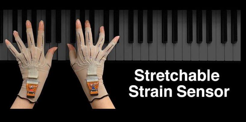 Yamaha crea prototipos de guantes de realidad virtual para músicos