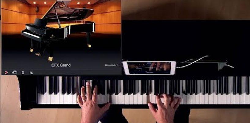 Clavinova de Yamaha trabajan con Alexa y le enseñan cómo tocar
