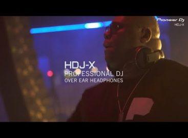 La línea de audífonos HDJ de Pioneer DJ se renueva