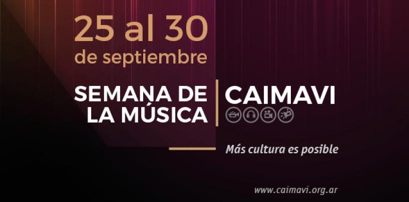 Septiembre es el mes de la Semana de la Música CAIMAVI