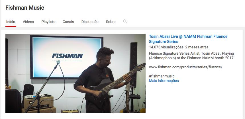 Fishman Youtube