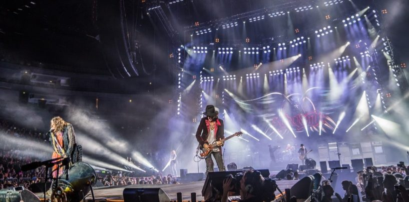 Aerosmith se ilumina con las luminarias LED X4 de GLP