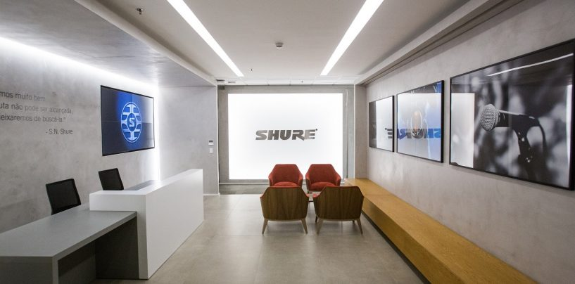 Shure inaugura oficina en Brasil y expande presencia en América Latina