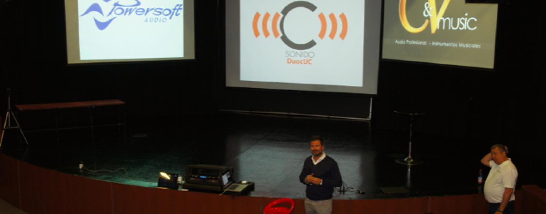 CyVmusic realiza seminarios del software Armonía en Chile