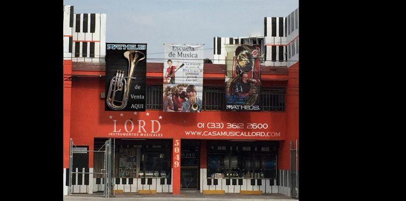 Venta y educación en Casa Musical Lord