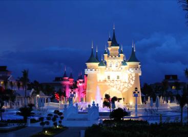 Las luces de SGM brindan un espectáculo en el Bahía Príncipe Resort