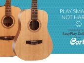 Cort lanza nuevas guitarras acústicas para el proyecto EZplay
