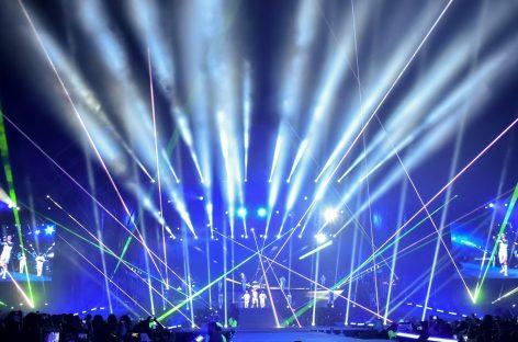 Platinum Beam 5R de Elation respaldó a Justin Bieber en República Dominicana