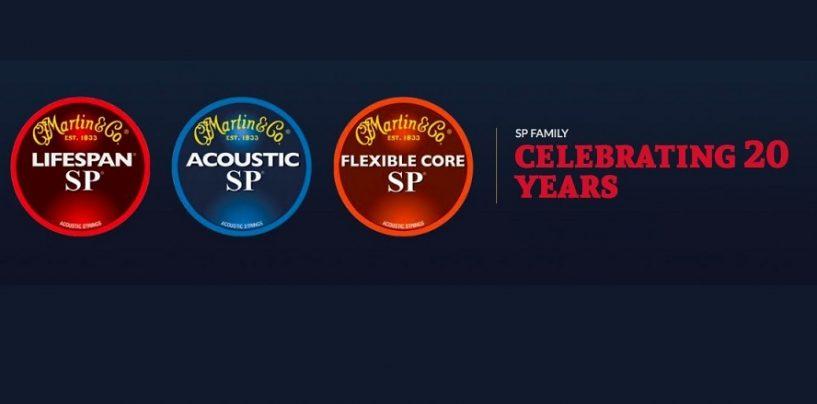 20 años de las cuerdas SP Line de Martin Strings