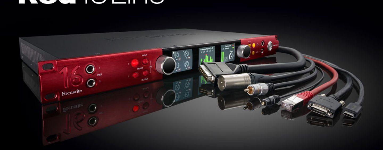 Nueva interfaz de audio Focusrite Red 16Line llega para facilitar el cambio