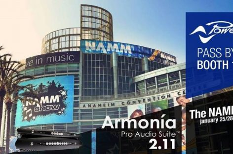 NAMM 2018: Powersoft se alegra de regresar a la popular feria