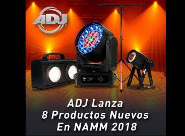 NAMM 2018: ADJ lanza 8 nuevos productos en NAMM