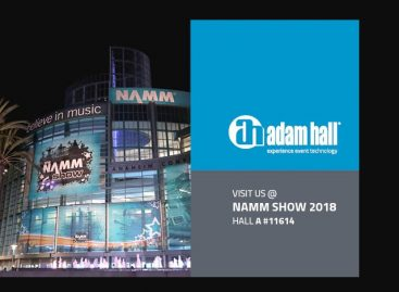 NAMM 2018: Adam Hall Group presenta varias primicias mundiales en Winter NAMM