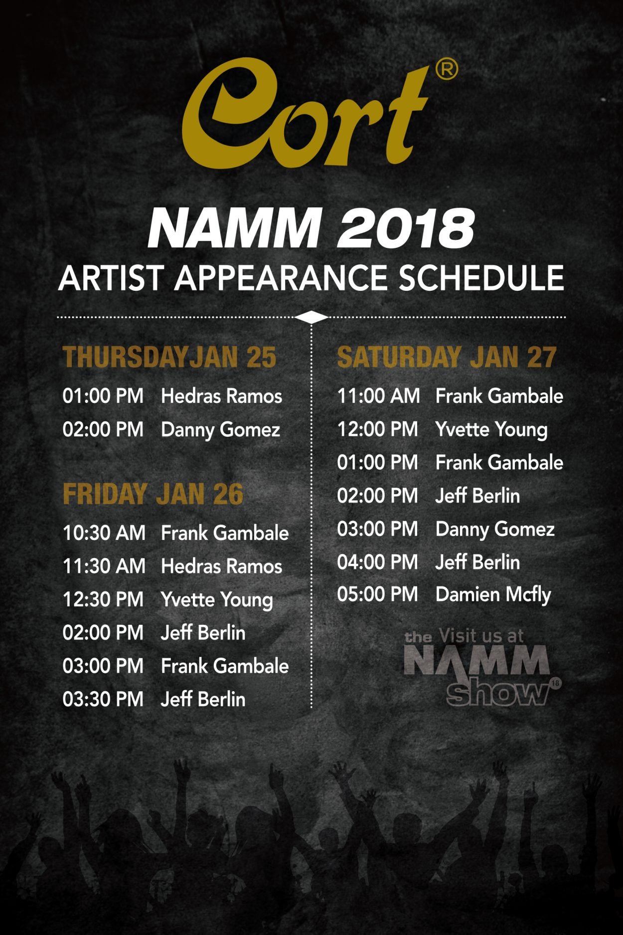 Appearance-Schedule cort