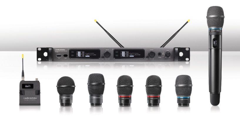 NAMM Show 2018: Audio-Technica incorpora un transmisor de mano ATW-T6002x a la gama de la serie 6000