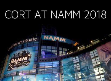 NAMM 2018: Nuevas guitarras y bajos en el stand de Cort en NAMM